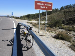 Auf dem Collado Garcia