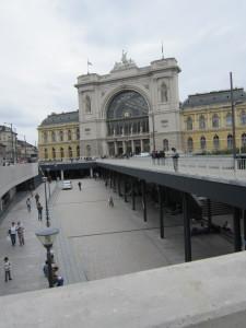 Keleti Bahnhof in Budapest